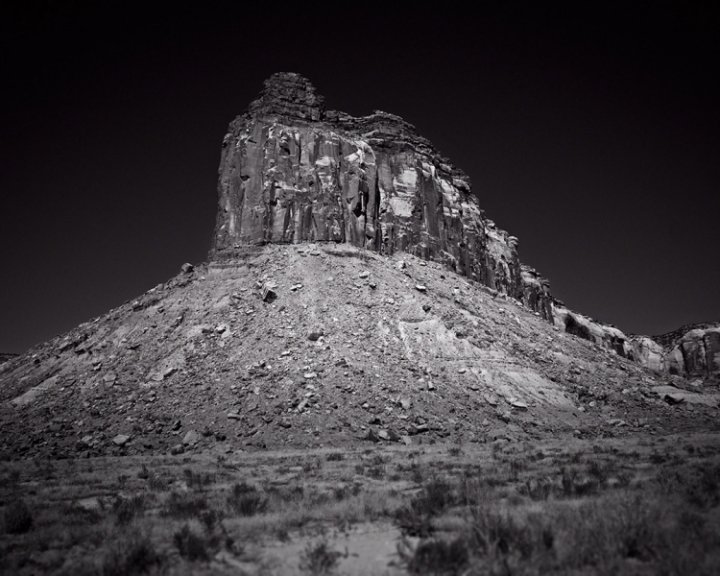 Canyonlands Black and White