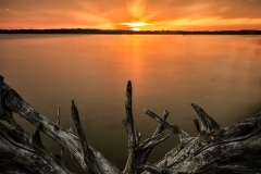 Alum Creek Lake Sunset