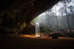 Ash Cave Falls Heavy
