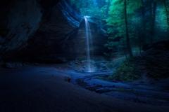 Ash Cave Moonlight