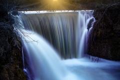 Cedar Cliff Falls Sunrise