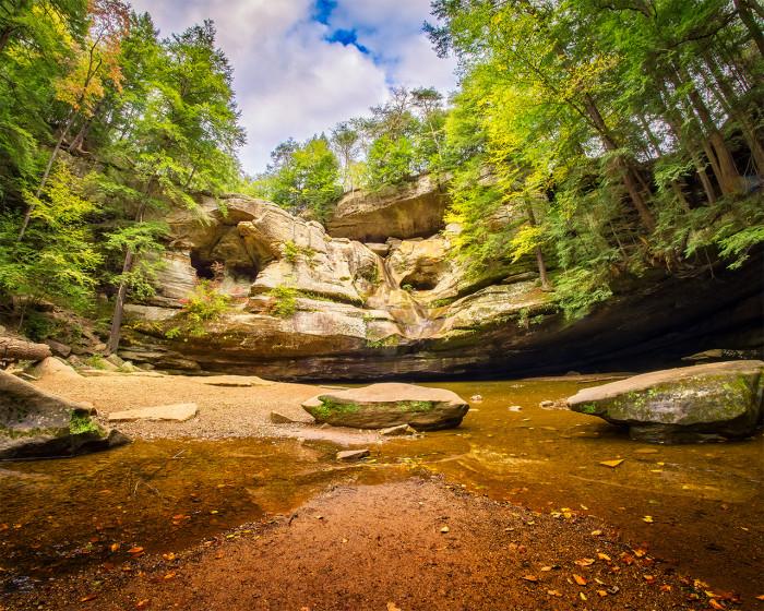 Cedar Rocks ISO:100 - f/8 - 8mm - 1/15 sec