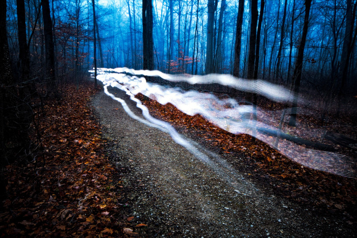 16 Foggy Light Trails ISO:320 - f/8 - 20mm - 16x30 sec 10 Stop ND Filter
