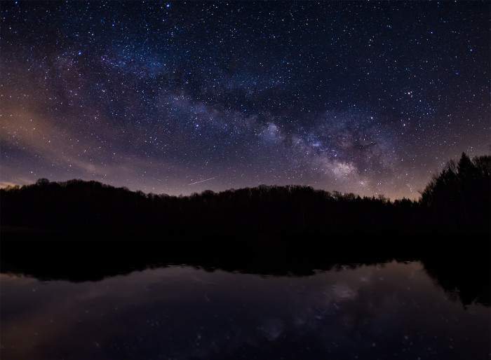 Rose Lake Milky Way Reflection ISO:1600 - f/2.8 - 8mm - 30 sec