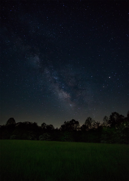 Hocking Hill Milky Way Vertical