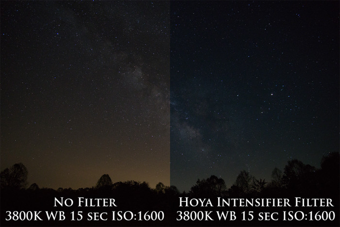 Hoya Intensifier Filter Comparison