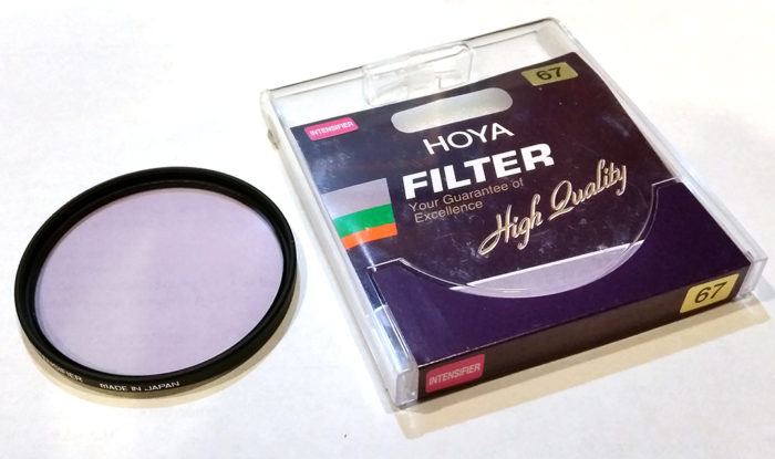 Hoya Red Intensifier Filter
